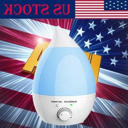 1.3L Ultrasonic Home Aroma Humidifier Air Diffuser Purifier
