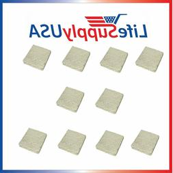 10 Evaporator Pad Filters w/ Wick fit Skuttle A04-1725-052 M