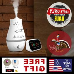 2.2 L Ultrasonic Home Aroma Humidifier Air Diffuser Purifier