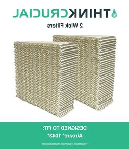 2 Replacements Aircare 1043 Paper Wick Humidifier Filter 10.