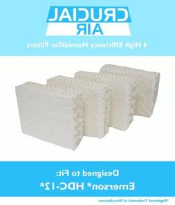 4 Replacement  Kenmore / EmersonHumidifier Wick Filters  Par