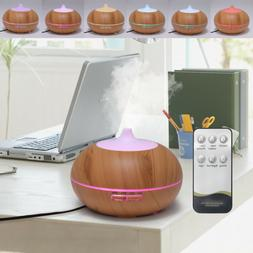 550ml Ultrasonic Humidifier Essential Oil Diffuser Aromather