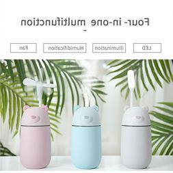 Air Humidifier Ultrasonic with LED Light Mist Aromatherapy V