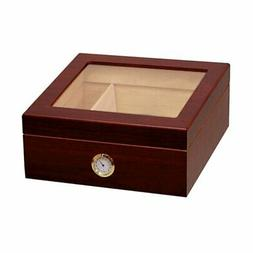 Prestige Import Group Chalet Glass Top Humidor
