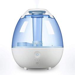 Cool Mist Humidifier Ultrasonic Room Variable Time Settings,