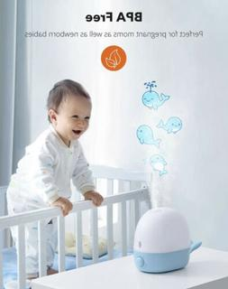 Humidifiers for Babies, TaoTronics 3-IN-1 Humidifier with Es