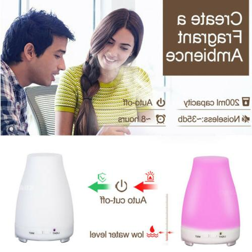 7-Color Diffuser Aromatherapy Mist Ultrasonic