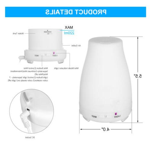7-Color Diffuser Aromatherapy Ultrasonic