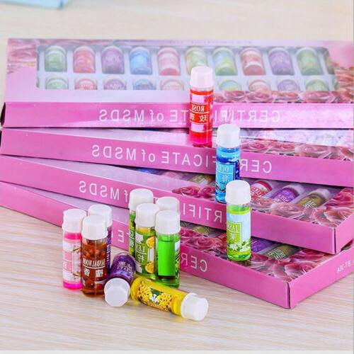 24pcs 5ml Essential Set Aromatherapy Gift 100% Pure for Humidifier