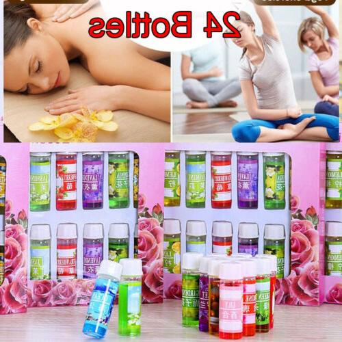 24pcs 5ml Essential Set Aromatherapy Pack 100% Humidifier