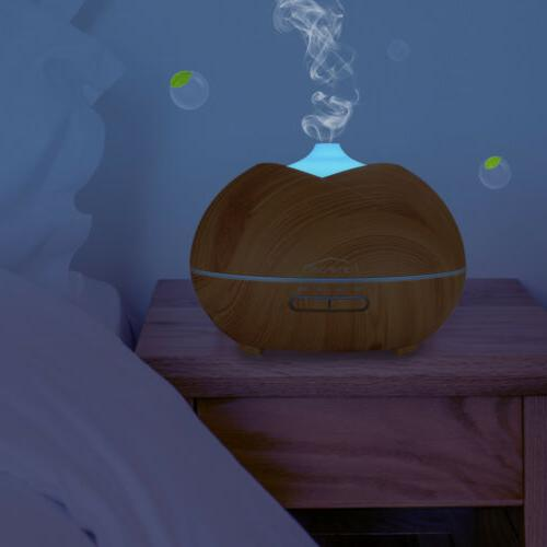 450ML Humidifier Essential Oil LED Lights