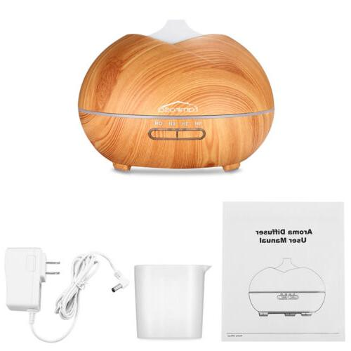 450ML Humidifier Essential Oil Aromatherapy LED