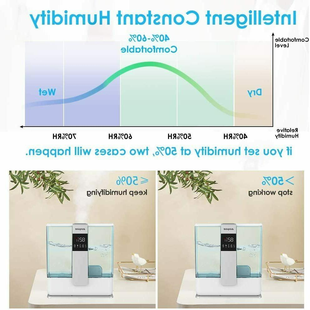 5L Humidifier for with Humidistat, Remote Control