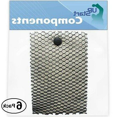 6 pack replacement bionaire bcm740b humidifier filter