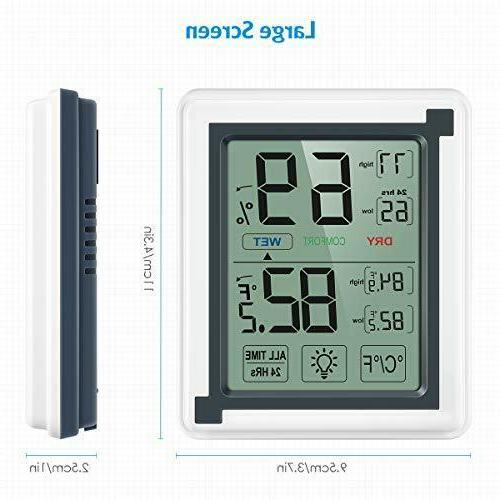 Brifit Hygrometer Thermometer, Accurate