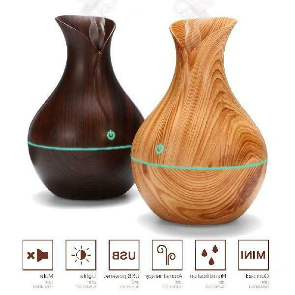 Color LED Oil Aromatherapy Humidifier