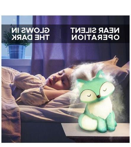 Cute Baby for Nursery Baby Night Light Essential Diffuser