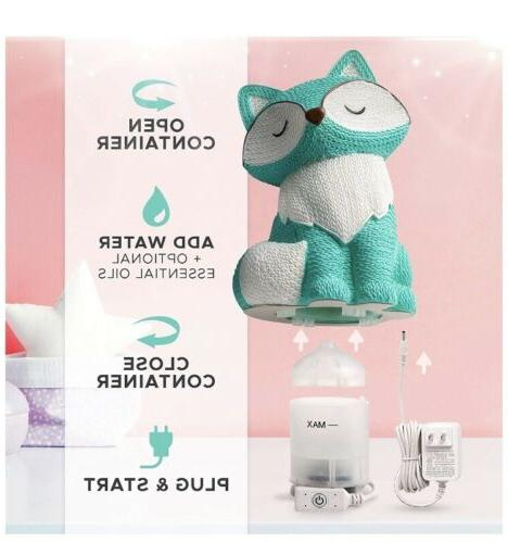 Cute Baby Humidifiers for Nursery - Night Diffuser