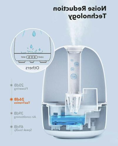 Humidifiers for Babies, TaoTronics 3-IN-1 Humidifier Oil