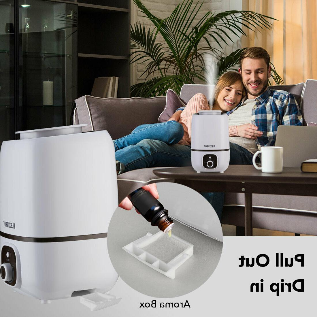 Humidifiers Cool Mist for Bedroom with Aromatherapy