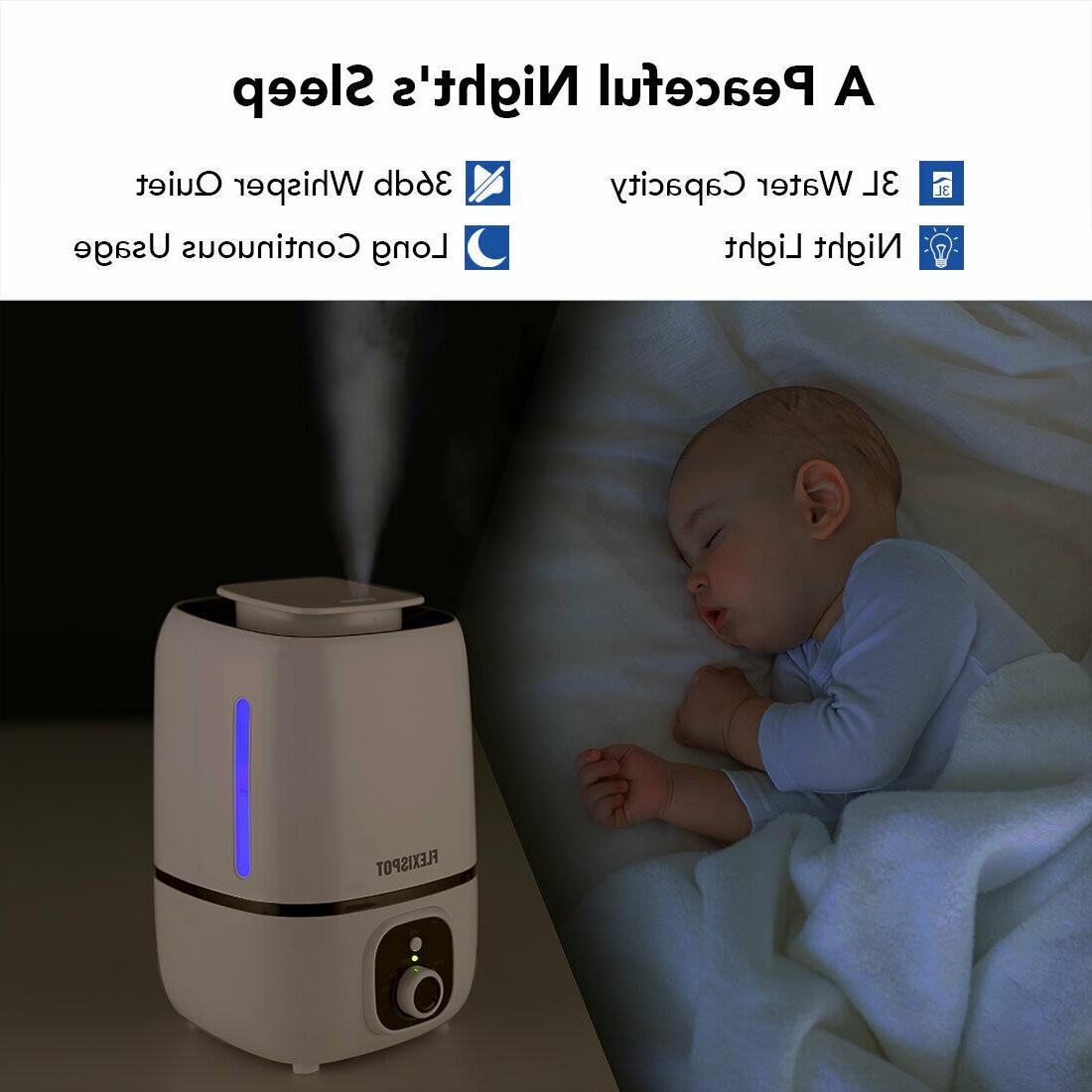 Humidifiers for 3L Cool Bedroom with