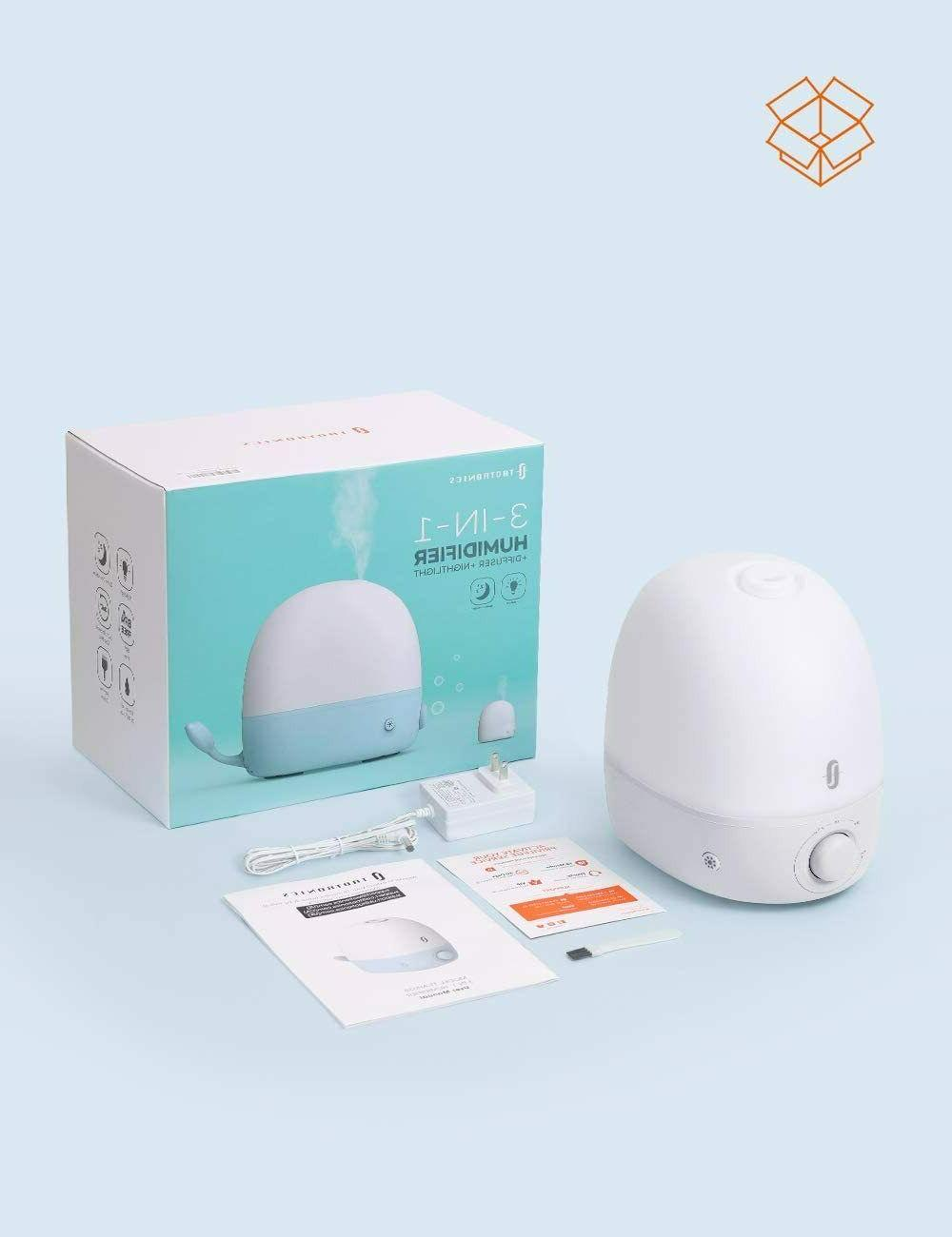 Humidifiers for Babies, 3-IN-1 Oil