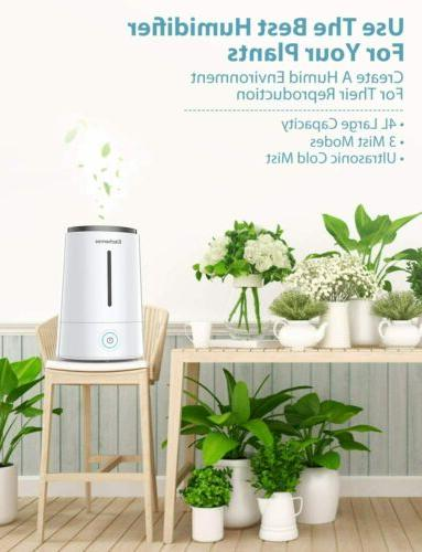 Elechomes Humidifiers Bedroom Top Cool Humidifier 4L