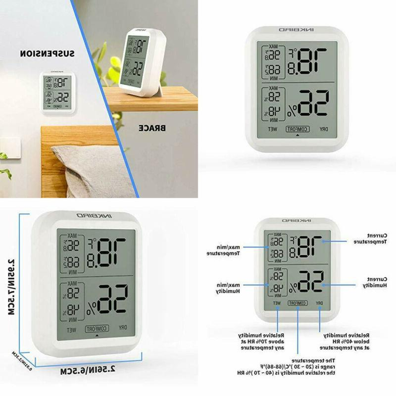 ith 20 digital thermometer indoor room hygrometer