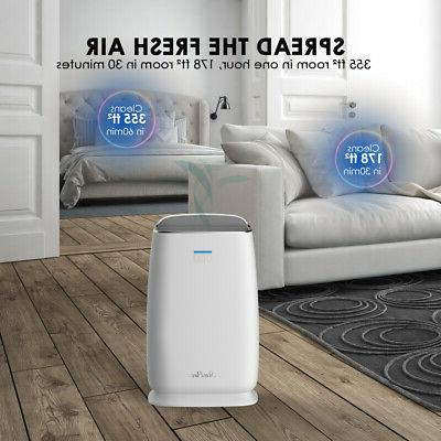 Large Purifier HEPA Cleaner Odor Stage Filter