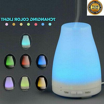 led essential oil diffuser ultrasonic aroma therapy