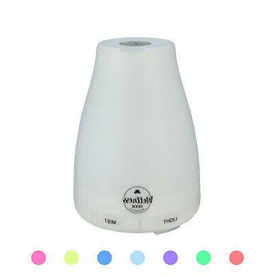 100ml Oil Diffuser Humidifier Aromatherapy LED Aroma