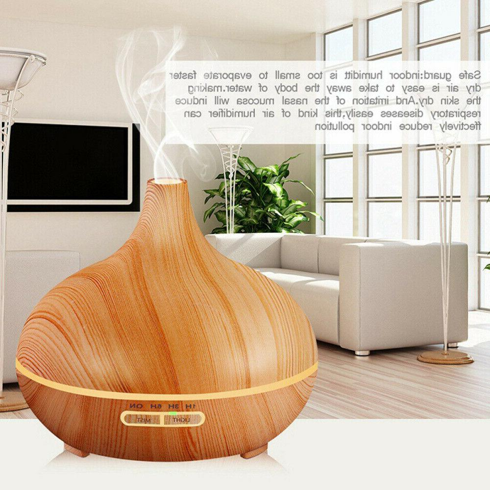 LED Aroma Essential Oil Diffuser Air Aromatherapy Humidifier