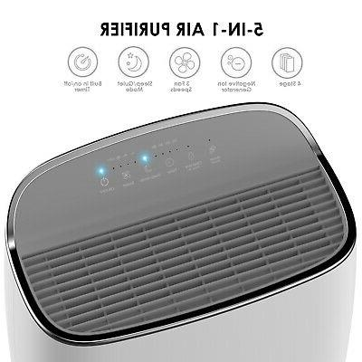 Large Room Air Purifier HEPA Filter Remove Odor