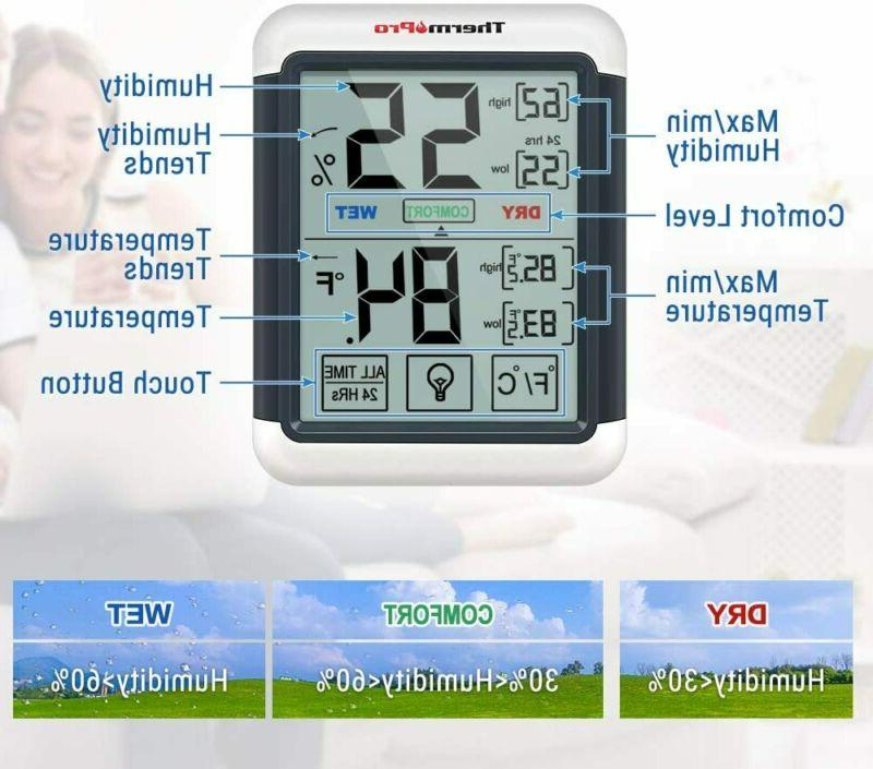 Indoor Thermometer with...