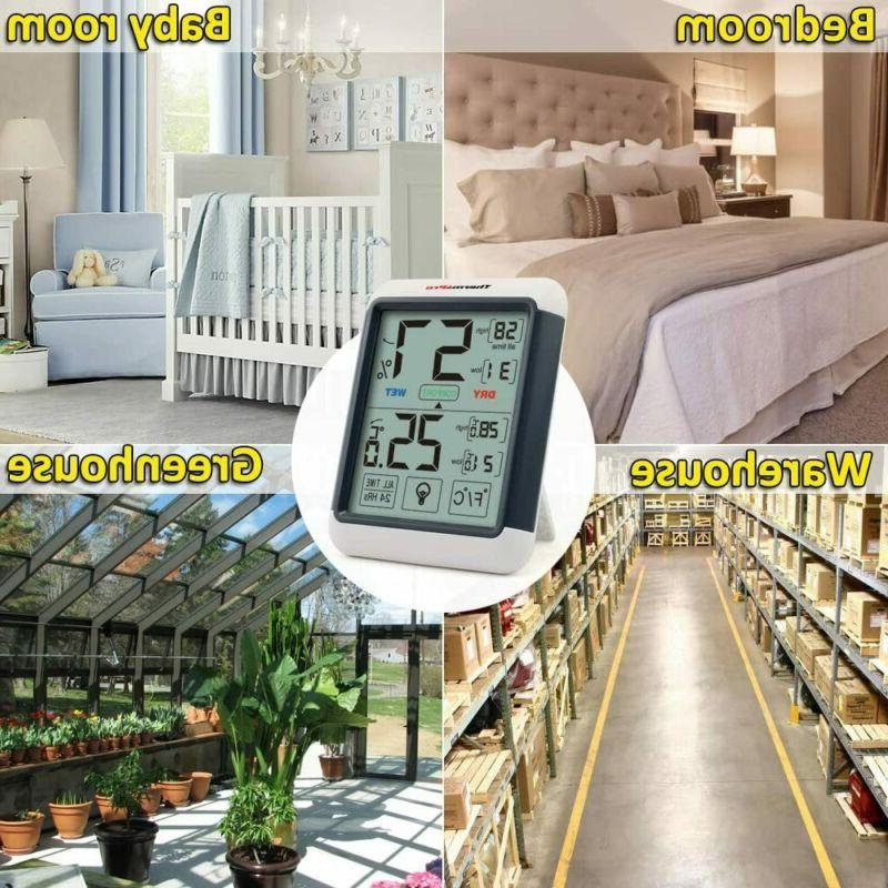 ThermoPro Digital Indoor Thermometer Gauge with...