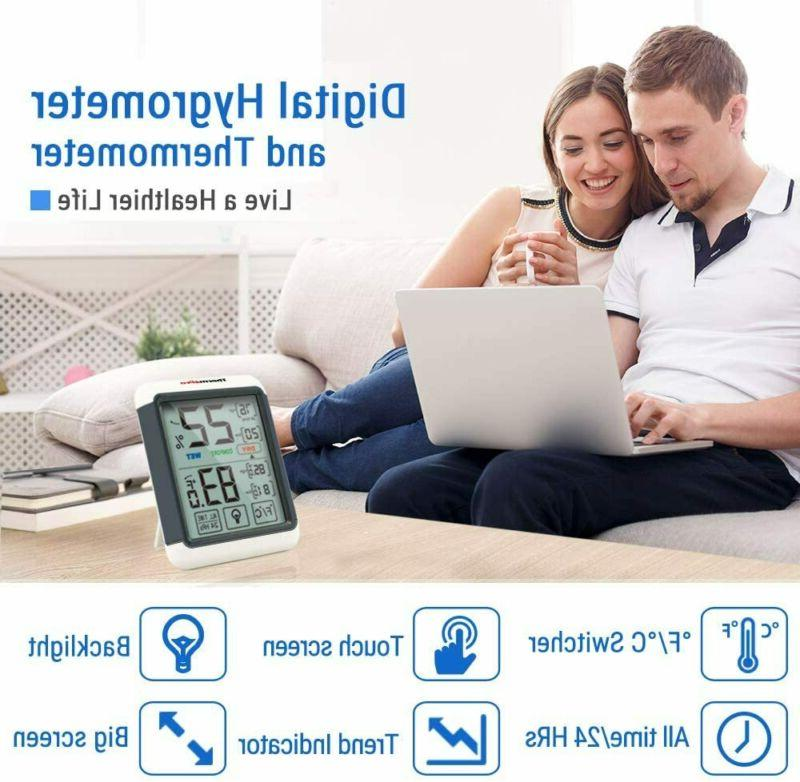 ThermoPro Indoor Thermometer with...