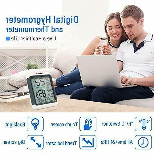 ThermoPro TP55 Indoor Thermometer Humidity with...