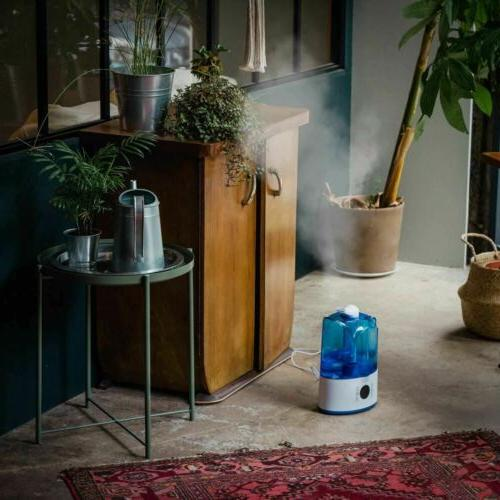 9HORN Ultrasonic Cool Humidifier with and 3.3L Water A
