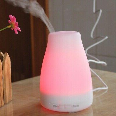 LED Air Essential Diffuser Humidifier Aromatherapy Ultrasoni