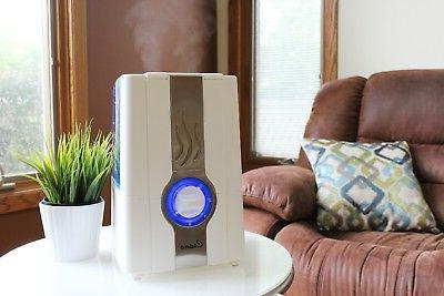 CRANE Warm Humidifier Clean Control Gallon and White EE5201W