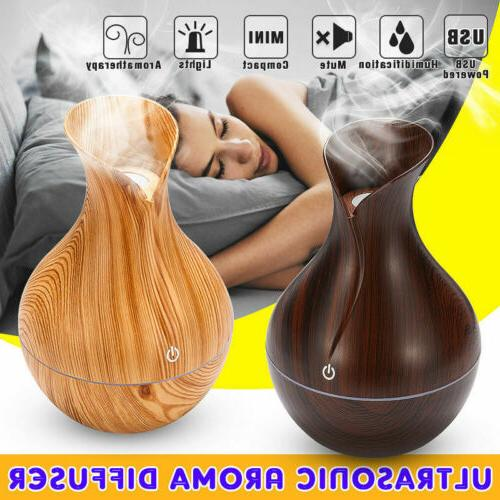 USB Aroma Oil Diffuser Humidifier Aromatherapy