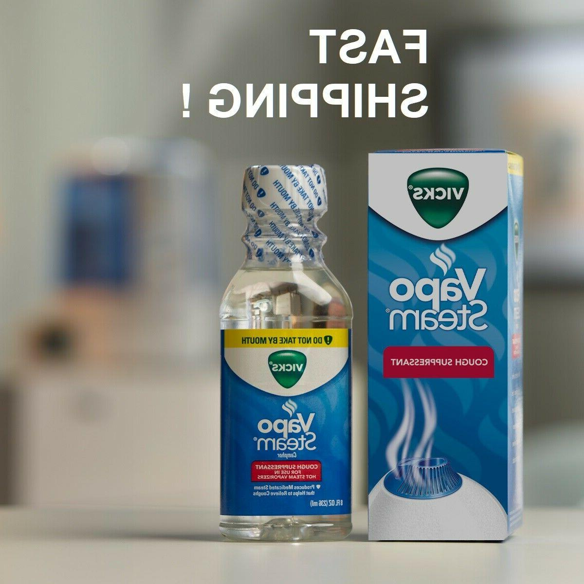 vaposteam medicated steam therapy helps relieve coughing