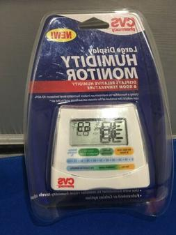 CVS Large Display Humidity Monitor Use With Humidifier To Mo