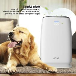 Large Room Air Purifier HEPA Filter Cleaner Remove Odor Alle