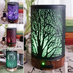 LED 7 Colors quiet Humidifier Portable Air Atomizer Diffuser