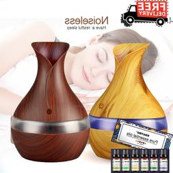 LED Ultrasonic Aroma Diffuser Air Aromatherapy Purifier Esse