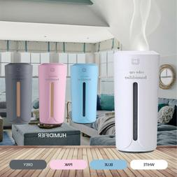Portable LED Ultrasonic Mini Diffuser Aromatherapy Air Humid