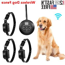 Wireless Electric Dog Fence Waterproof Containment System Sh