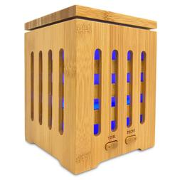 Real Bamboo Essential Oil Diffuser Humidifier Aromatherapy 2