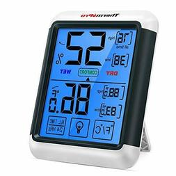 thermopro tp55 digital hygrometer indoor thermometer humidit